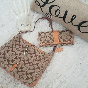 Coach purse set